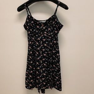 American Eagle Floral Sleeveless Dress